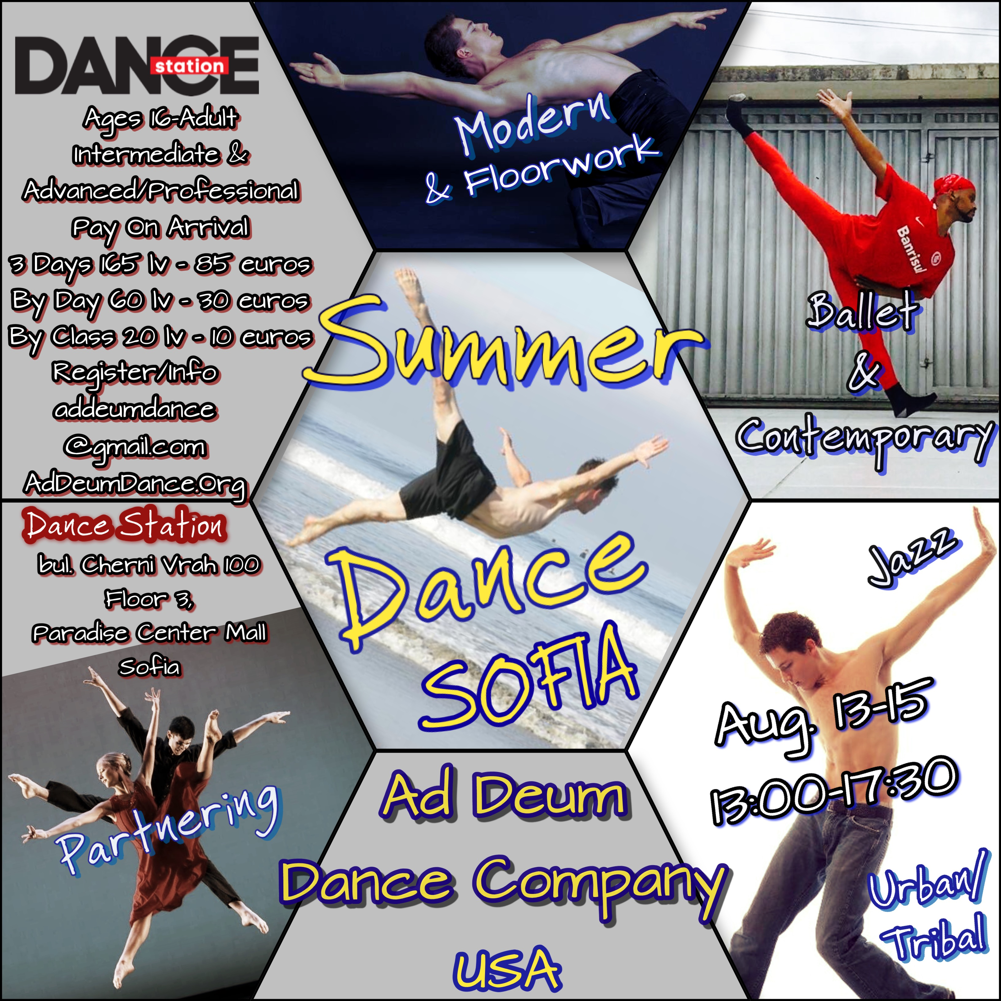 Summer Dance Days Sofia